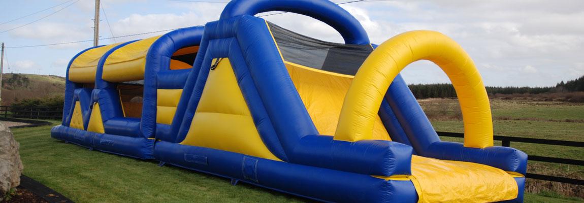 bouncy castle hire slide